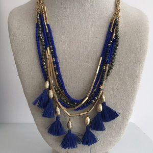 Stella & Dot Tulum Tassel Necklace